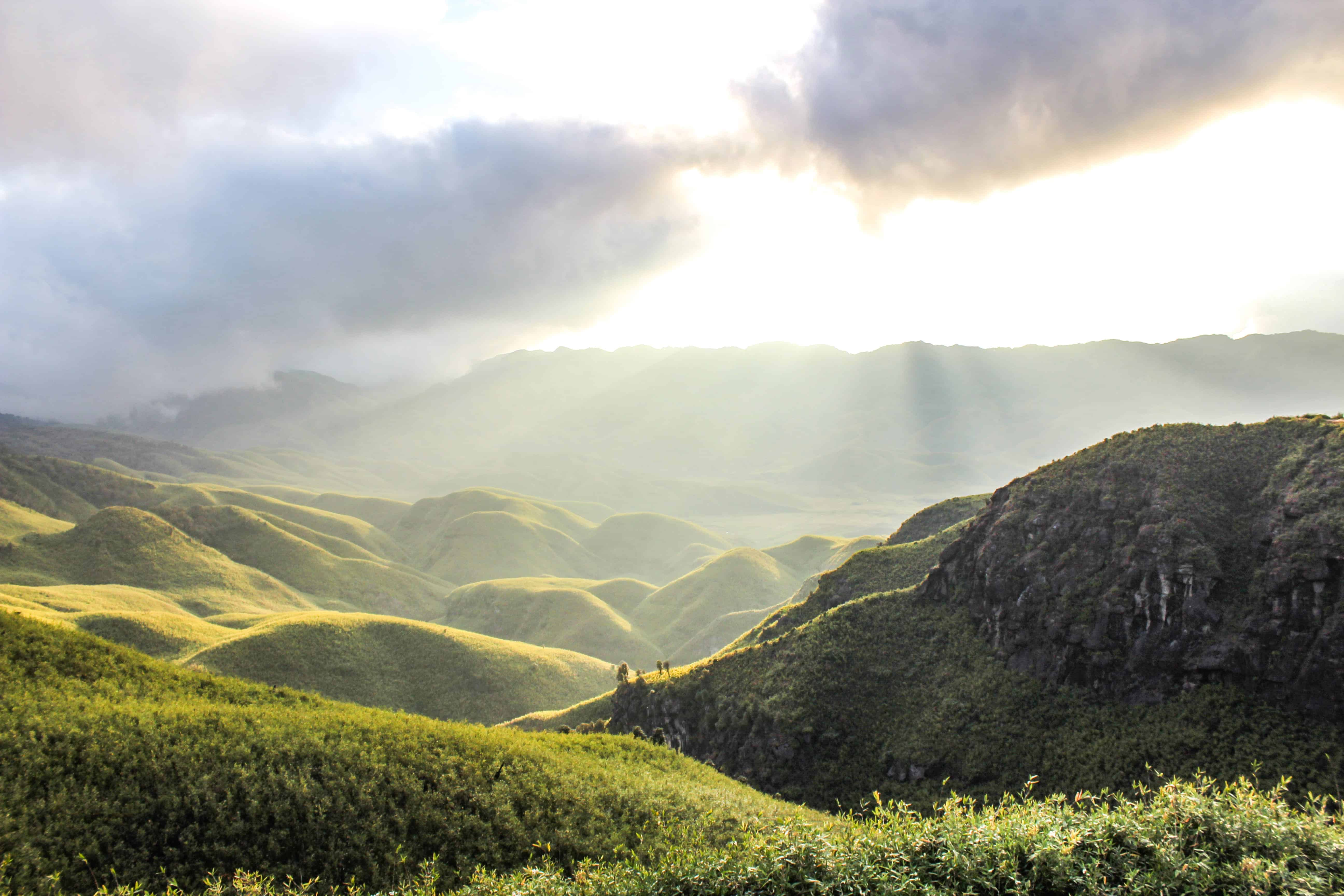 Dzukou Valley Trek- Epic Sunset