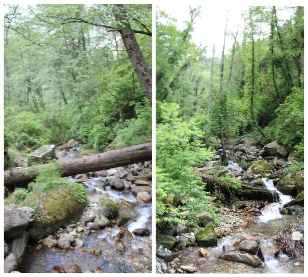 Waterfall in Sainj Valley