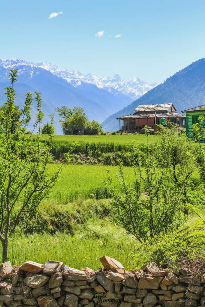 A himalayan house in Sainj Valley