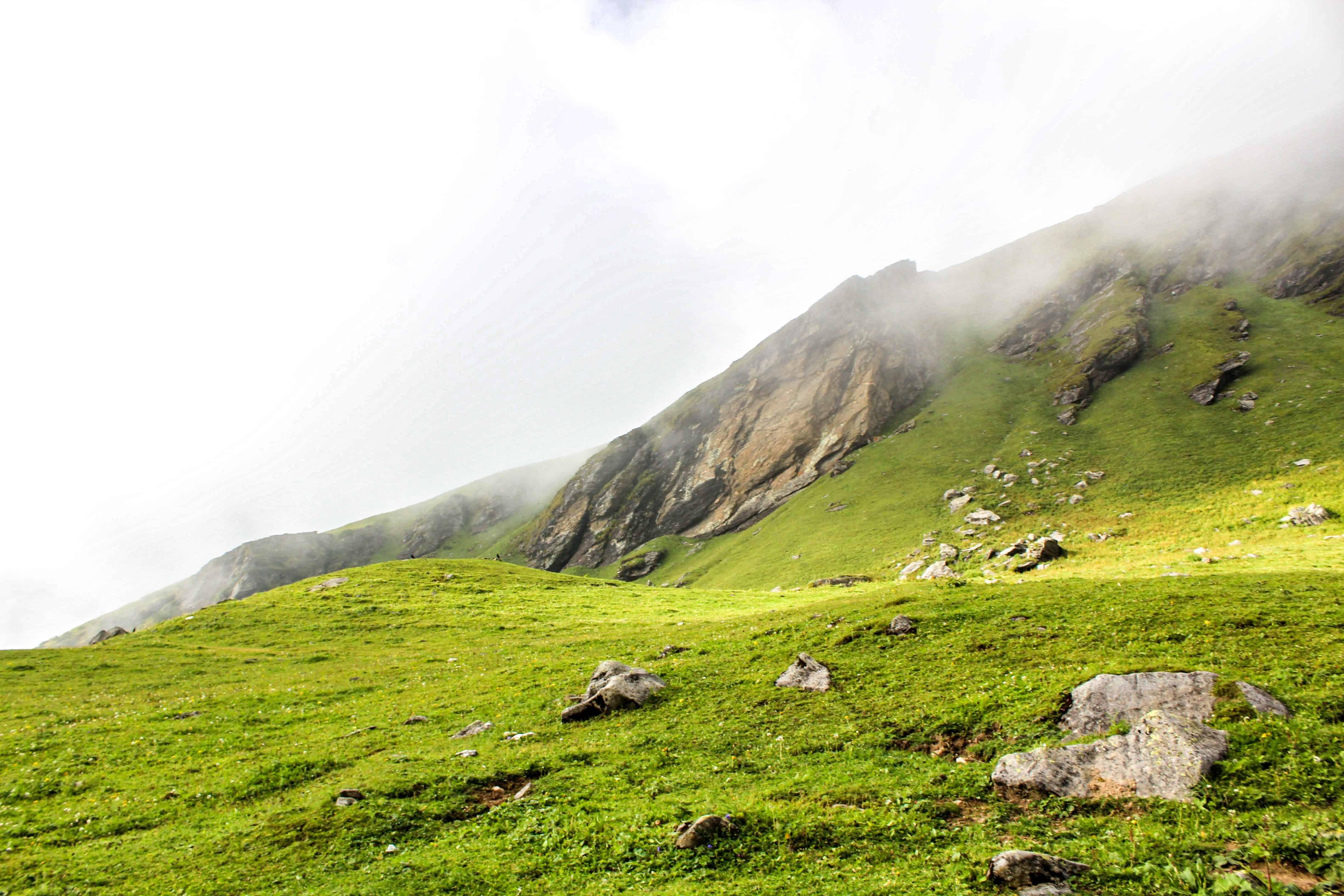 Landscape around Rola Khuli campsite