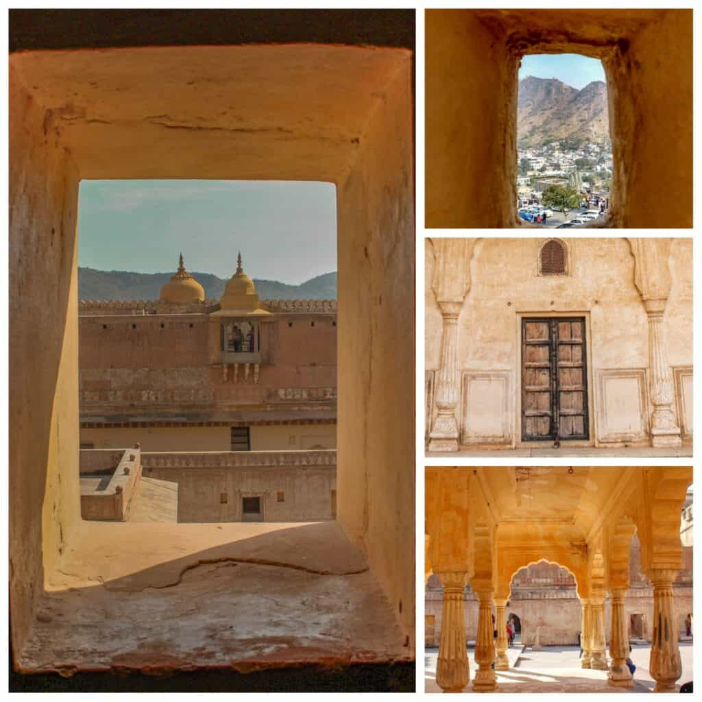 Frames from Amer Fort