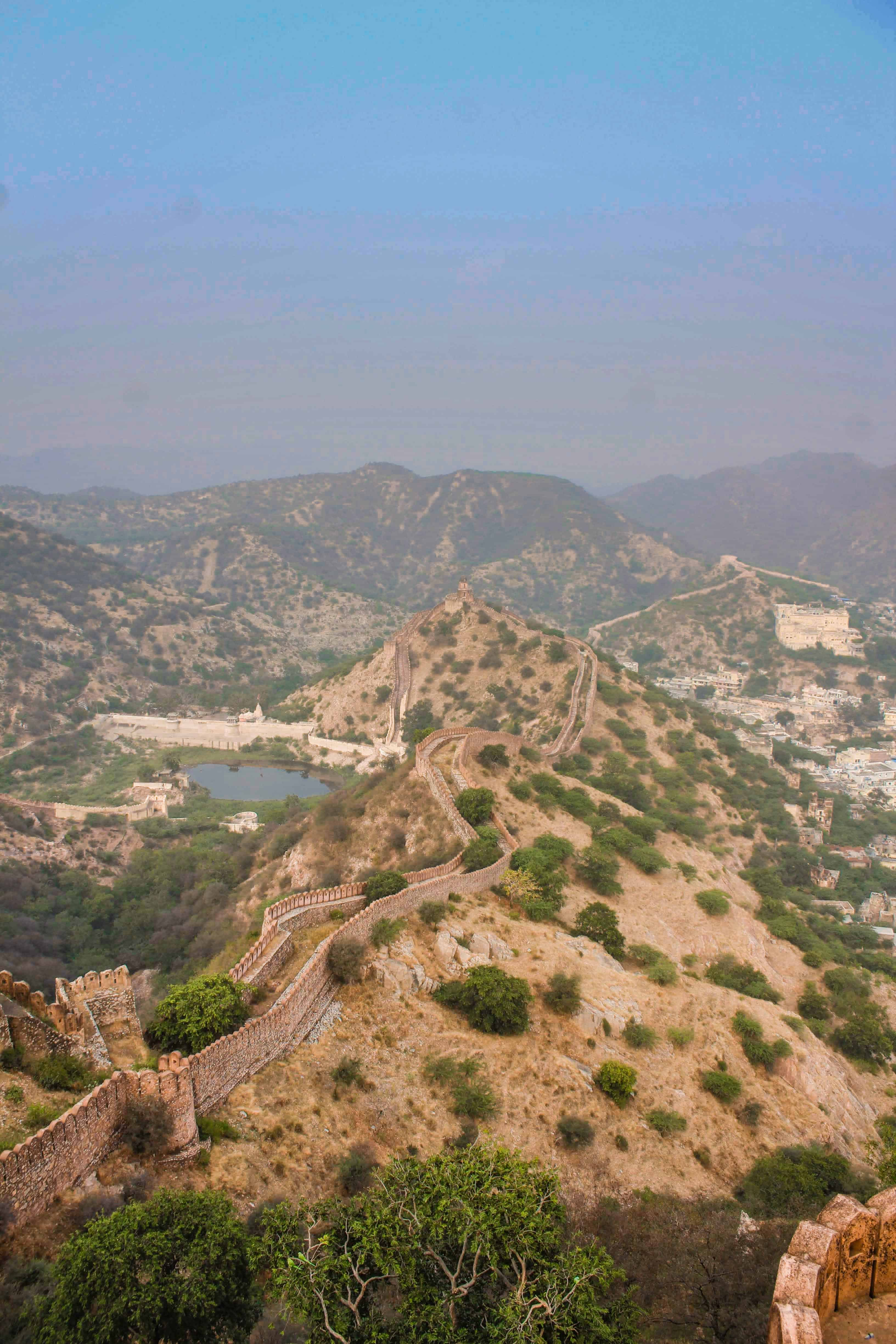 Views from Amer Fort